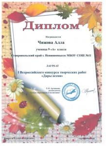 Чижова А., 9а